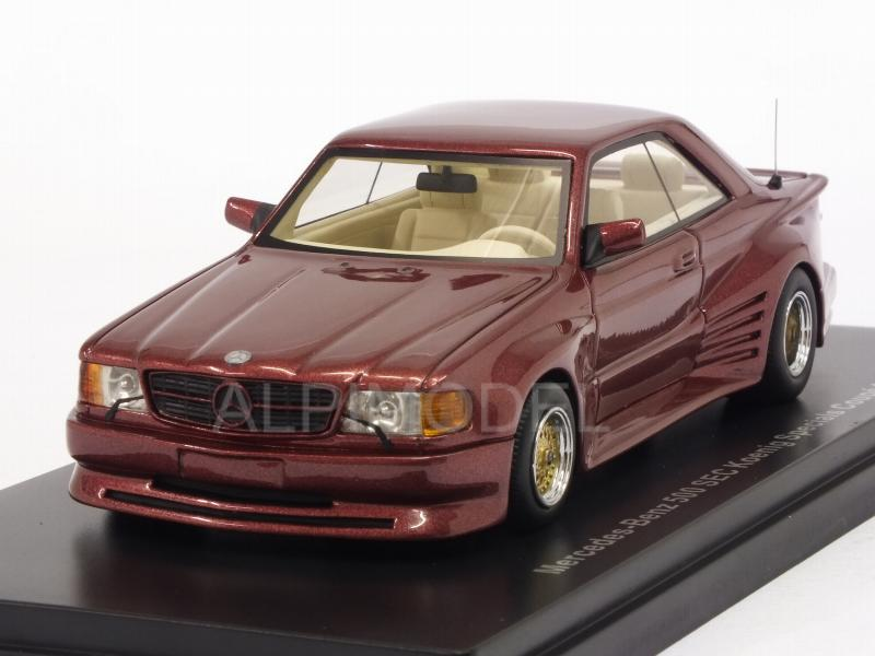 Mercedes 500 SEC Coupe Koenig Specials 1985 (Red Metallic) by neo