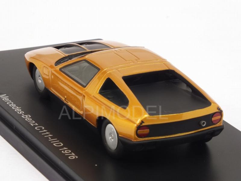 Mercedes C111-IID 1976 (Metallic Orange) - neo