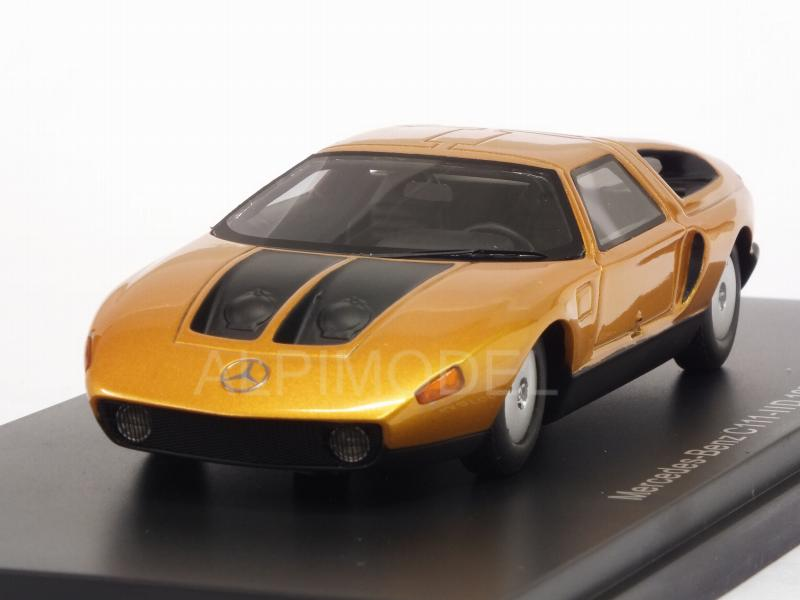 Mercedes C111-IID 1976 (Metallic Orange) by neo