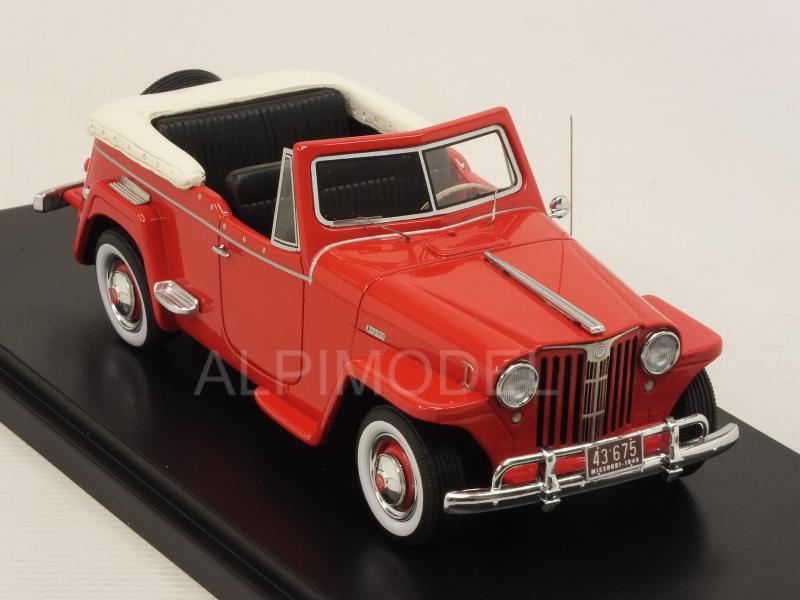 Willys Jeepster 1948 (Red) - neo