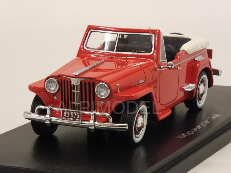 Willys Jeepster 1948 (Red) by neo