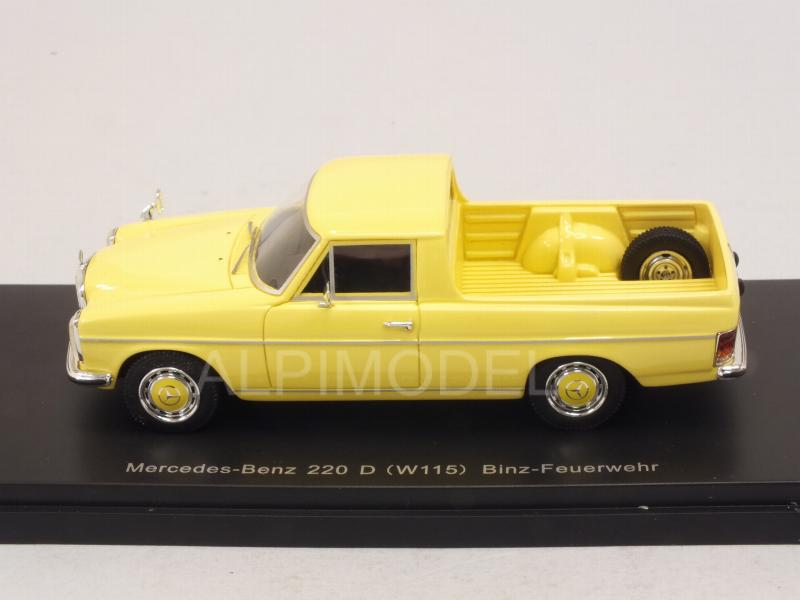 Mercedes 220D (W115) Pick-up Argentina 1974 (Light Yellow) - neo