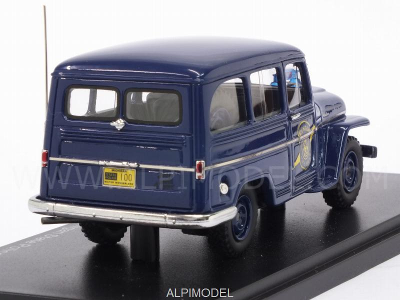 Jeep Willys Station Wagon Michigan State Police 1954 - neo