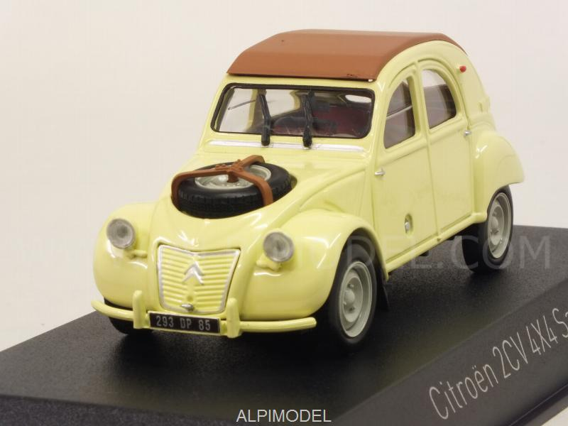 Citroen 2CV 4x4 Sahara 1961 (Panama Yellow) by norev