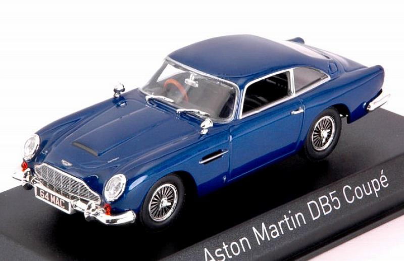 Aston Martin DB5 Coupe 1964 (Blue) by norev