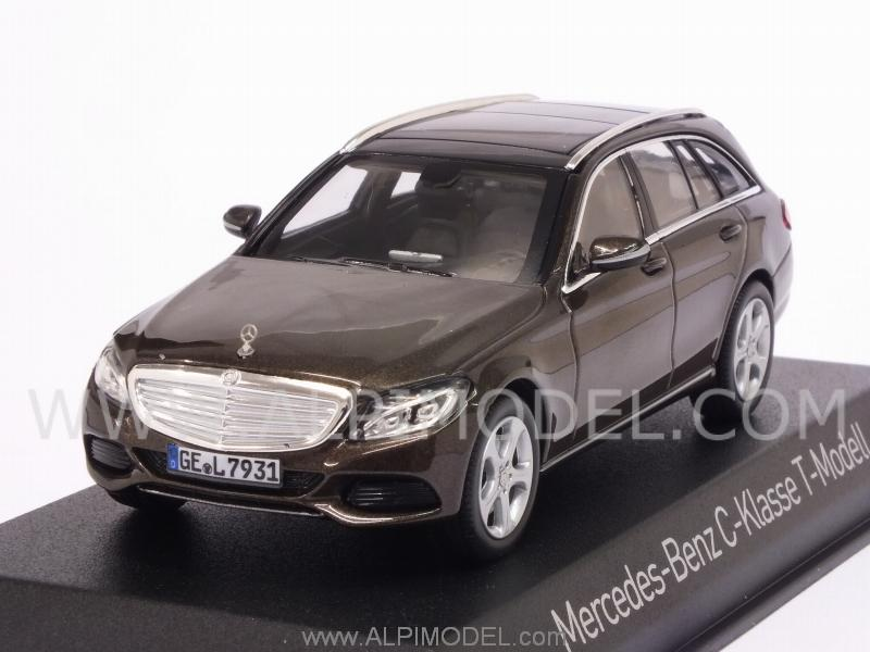 Mercedes C-Class Estate 2014 (Brown Metallic) by norev