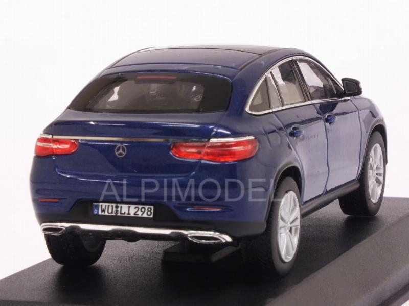 Mercedes GLE-Coupe 2015 (Blue Metallic) - norev