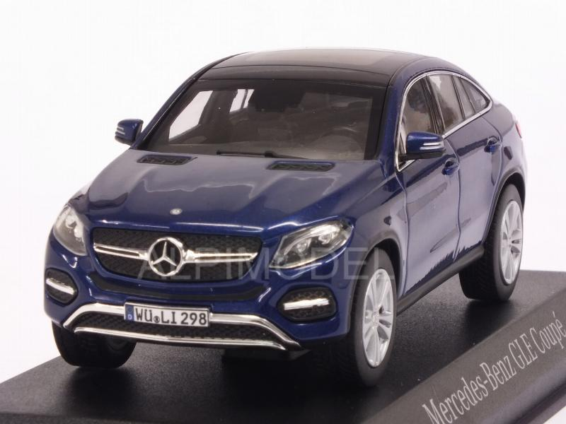 Mercedes GLE-Coupe 2015 (Blue Metallic) by norev