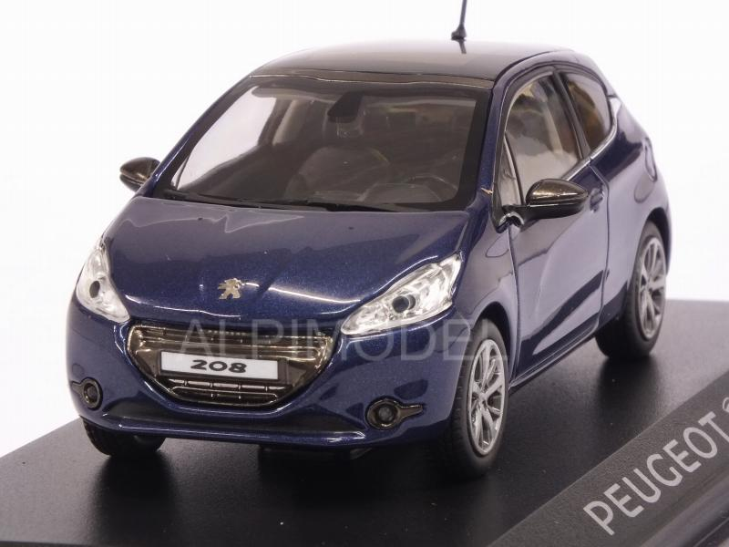Peugeot 208 3P (Blue) by norev