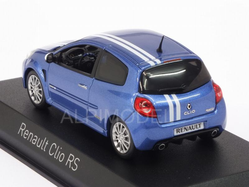 norev renault clio rs gordini 2009 blue 1 43 scale model. Black Bedroom Furniture Sets. Home Design Ideas