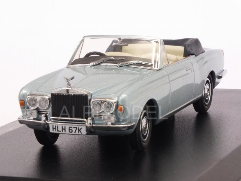 Rolls Royce Corniche Convertible MPW (Metallic Light Blue) by oxford