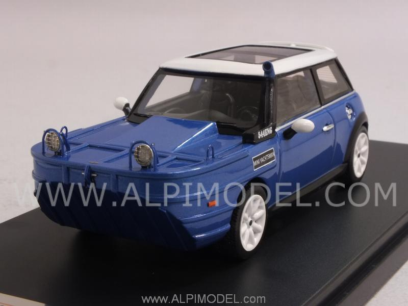 Mini Cooper S Yachtsman 2012 (Metallic Blue) by premium-x