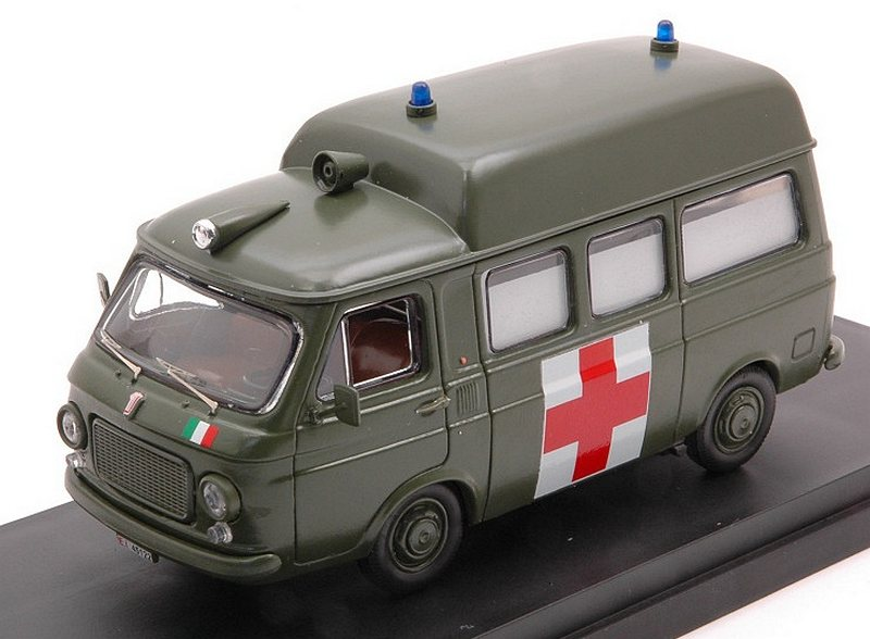 Fiat 238 Ambulanza Esercito Italiano 1970 by rio