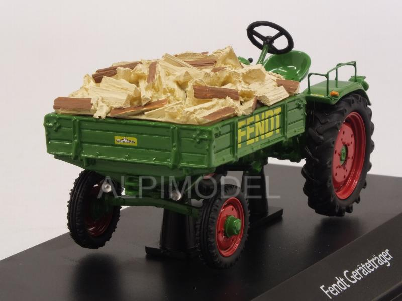 Fendt Tractor Geratetrager Scheutholz by schuco