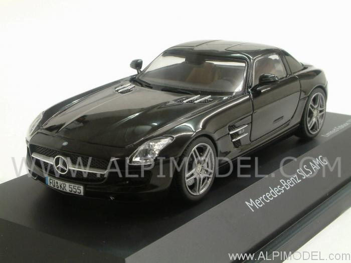 Mercedes SLS AMG 2010 (Black) by schuco