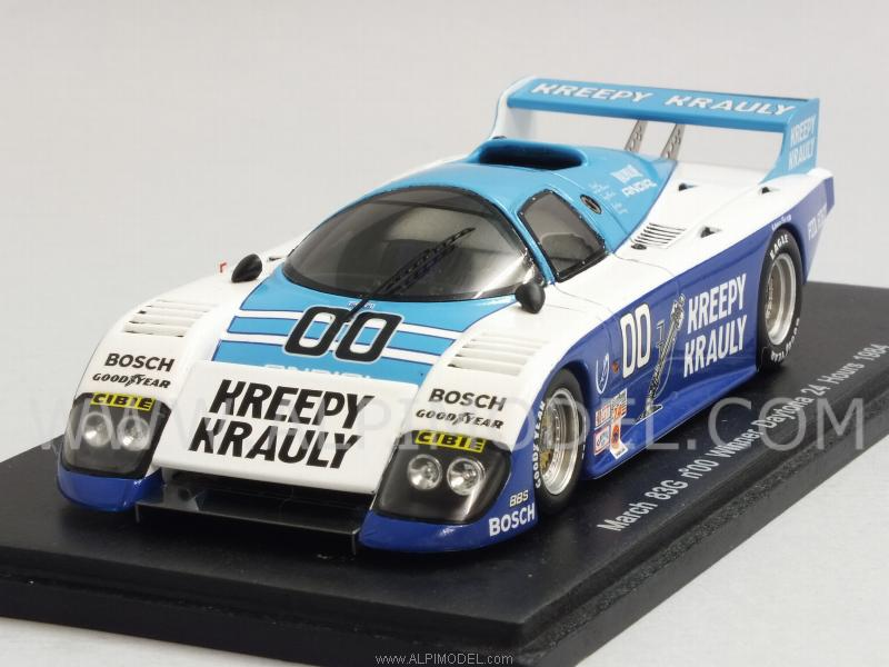 March 83G #00 Winner Daytona 1984 V.D.Merwe -Duxbury-Martin by spark-model