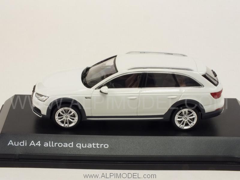 Spark Model Audi A4 Allroad Quattro 2016 Glacier White