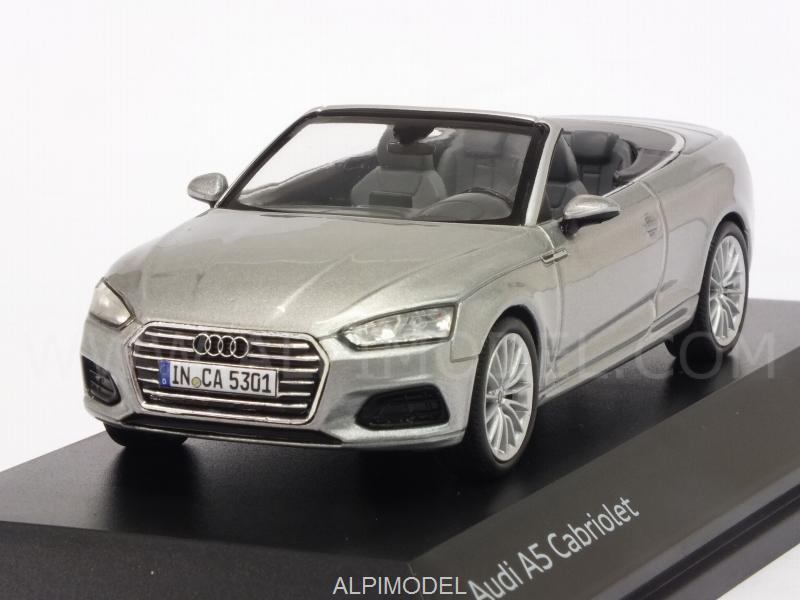 Audi A5 Cabriolet 2017 (Florett Silver) Audi Promo by spark-model