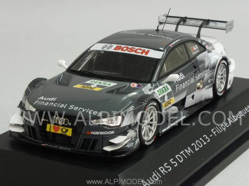 Audi RS5 #6 DTM 2013 Filipe Albuquerque (Audi promo) by spark-model
