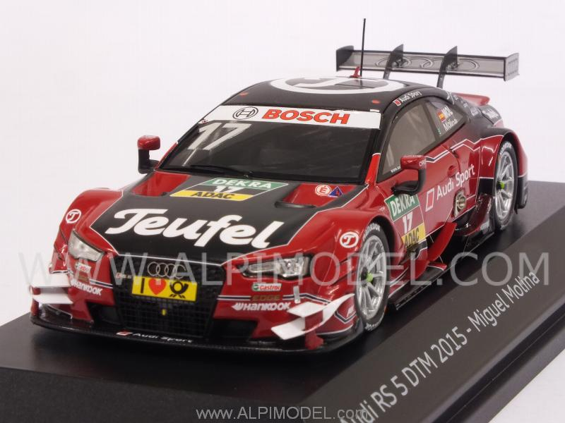 Audi RS5 #17 DTM 2015 Miguel Molina (Audi Promo) by spark-model