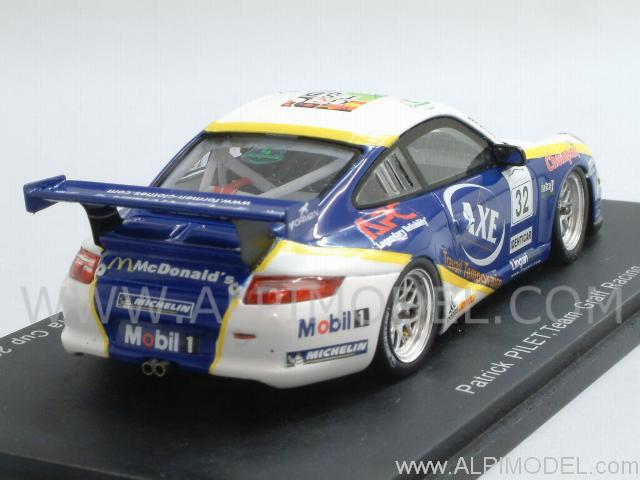 Porsche 911 GT3 Type 997 Cup #32  Winner Carrera Cup 2007 - Pilet - spark-model