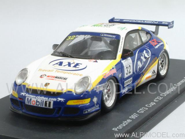 Porsche 911 GT3 Type 997 Cup #32  Winner Carrera Cup 2007 - Pilet by spark-model