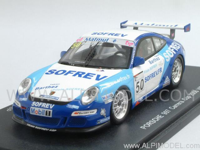 Porsche 911 GT3 Type 997 Cup VIP #50 Carrera Cup 2008 - Bartez by spark-model