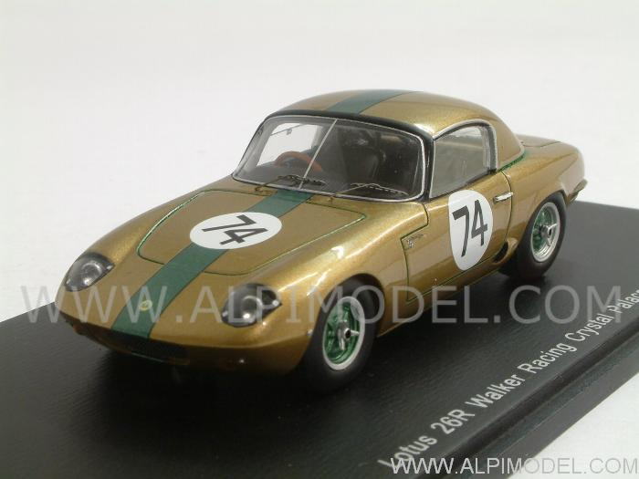 Lotus 26R #74 Walker Racing Crystal Palace 1964 Tommy Weber by spark-model