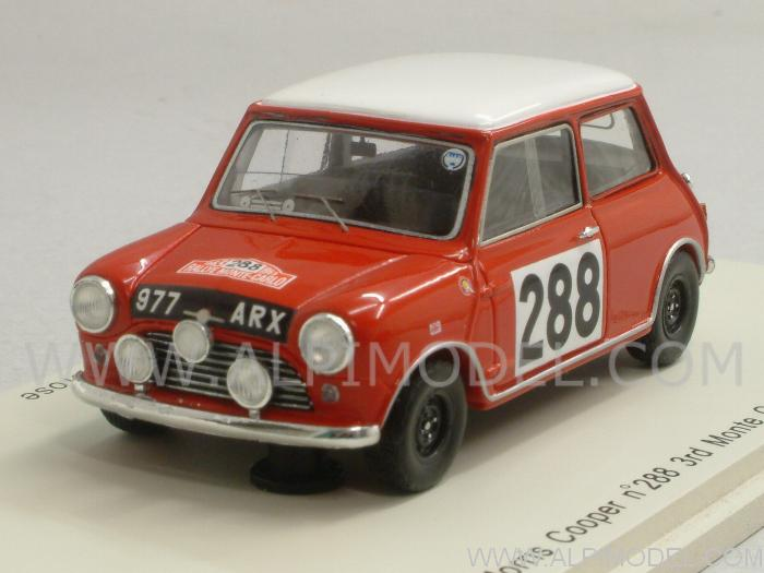 Morris Mini Cooper #288 Rally Monte Carlo 1963 Aaltonen - Ambrose by spark-model