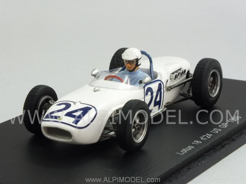 Lotus 18 #24 GP USA 1960 Jim Hall by spark-model