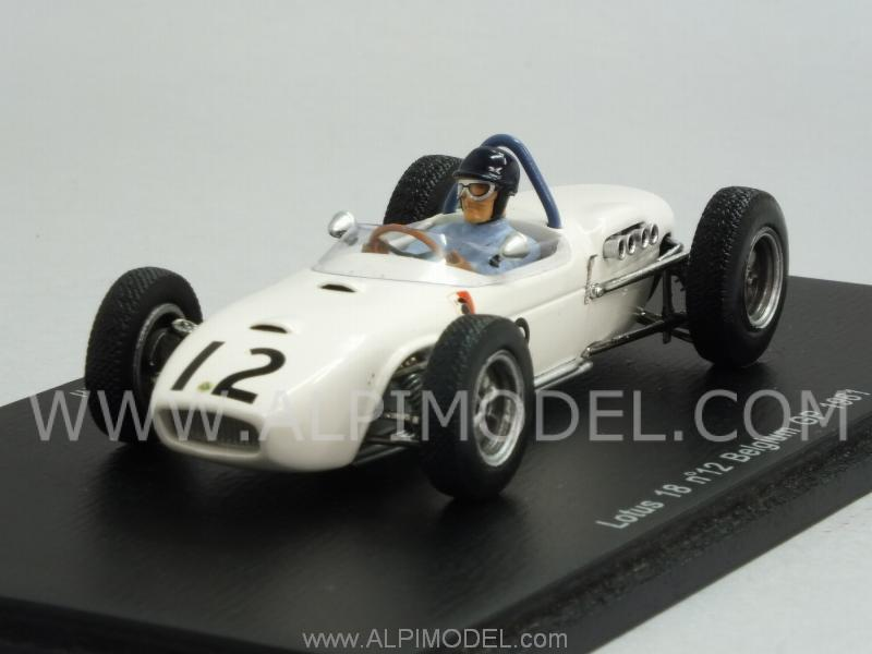 Lotus 18 #12 GP Belgium 1961   Lucien Bianchi by spark-model