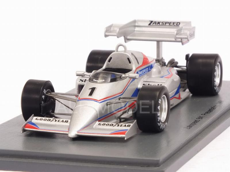 Zakspeed 841 Presentation 1984 by spark-model