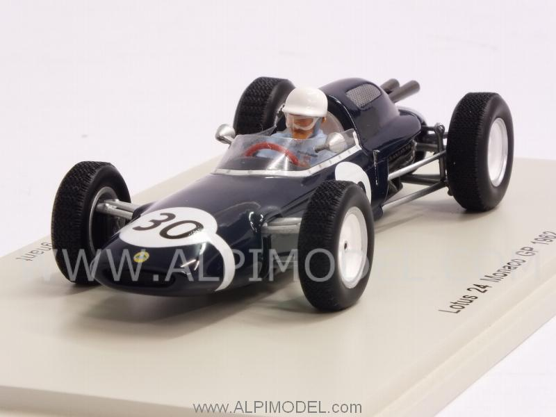 Lotus 24 #30 GP Monaco 1962 Maurice Trintignant by spark-model