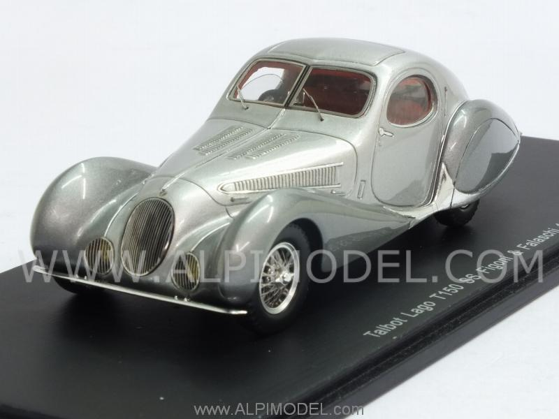 Talbot Lago T150 SS Figoni-Falaschi 1937 (Silver) by spark-model