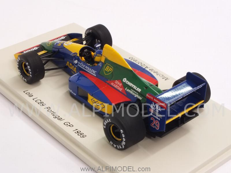 Lola LC89 #29i GP Portugal 1989 Michele Alboreto - spark-model