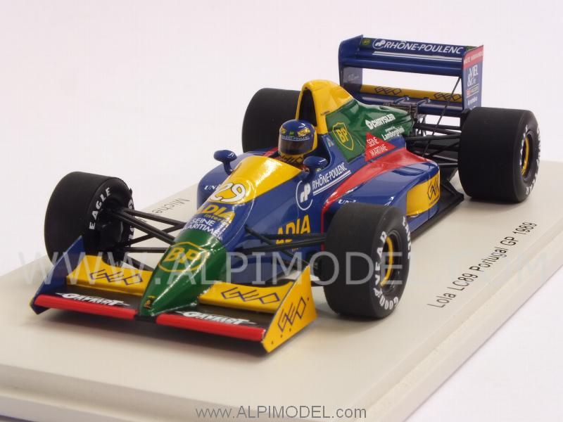 Lola LC89 #29i GP Portugal 1989 Michele Alboreto by spark-model