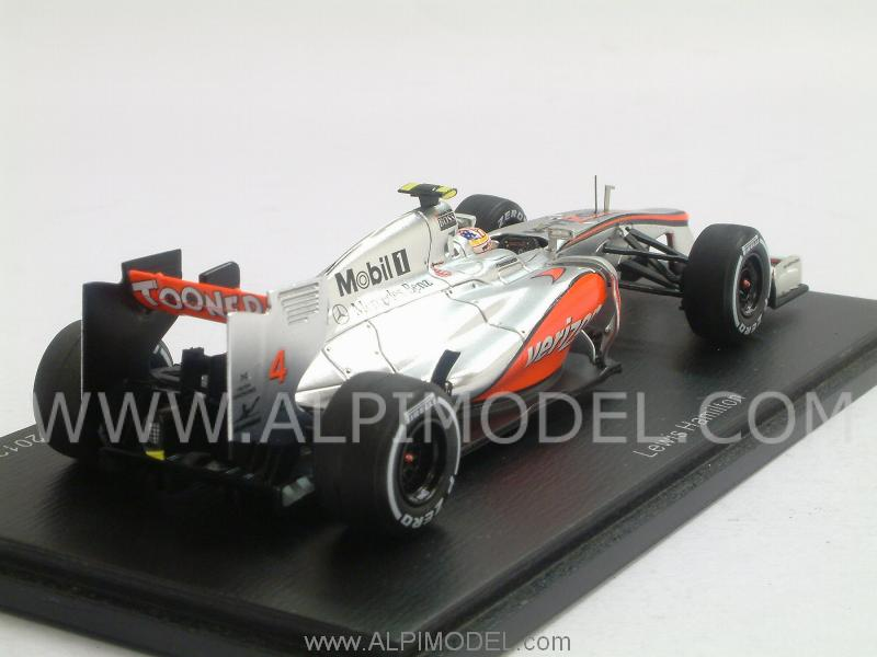 McLaren MP4/27 Mercedes Winner GP USA 2012 Lewis Hamilton - spark-model