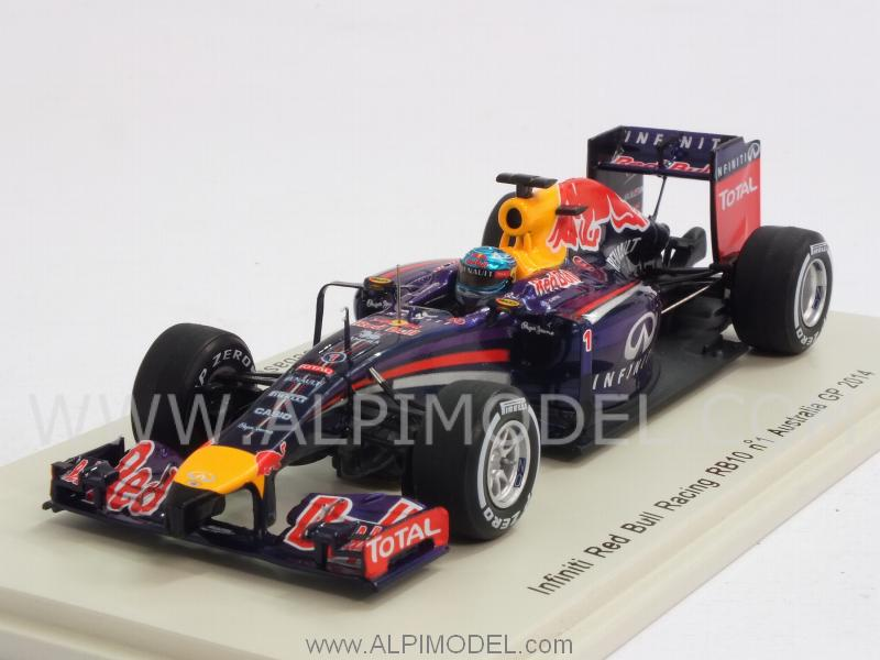 Red Bull RB10 #1 GP Australia 2014 Sebastian Vettel by spark-model