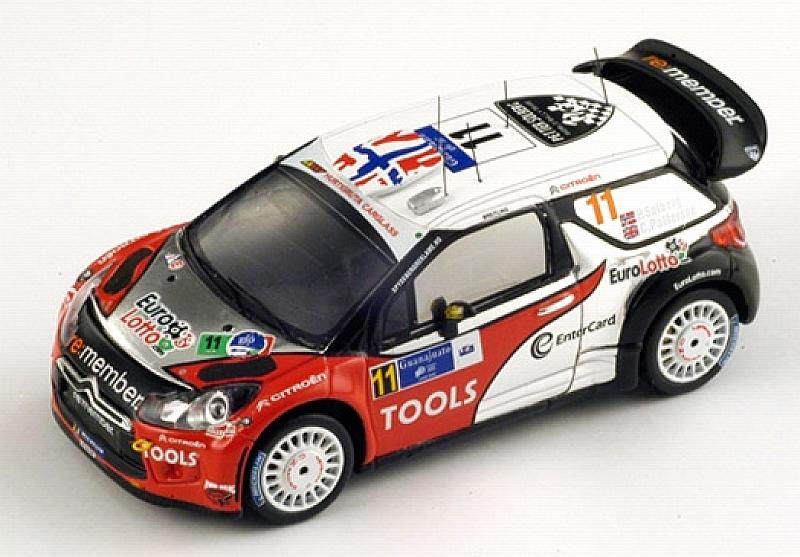 Citroen DS3 WRC #11 4th Mexico Rally 2011 by spark-model