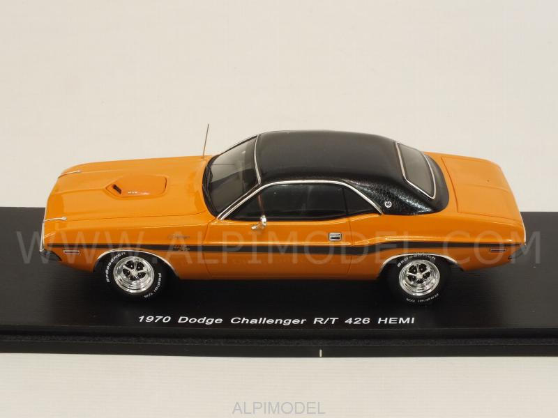 Dodge Challenger R/T 426 Hemi 1970 (Orange) - spark-model