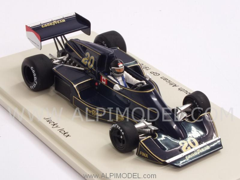 Williams FW05 Wolf  #20 GP South Africa 1976 Jacky Ickx - spark-model