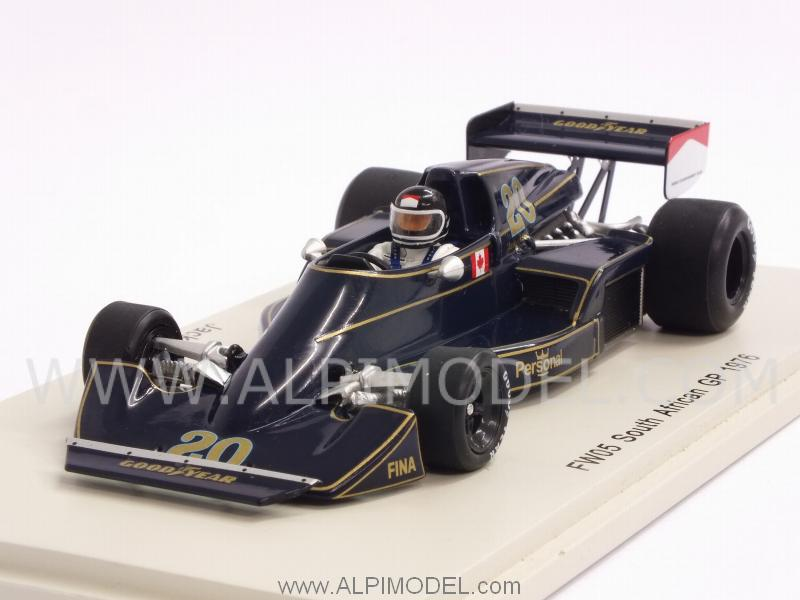 Williams FW05 Wolf  #20 GP South Africa 1976 Jacky Ickx by spark-model