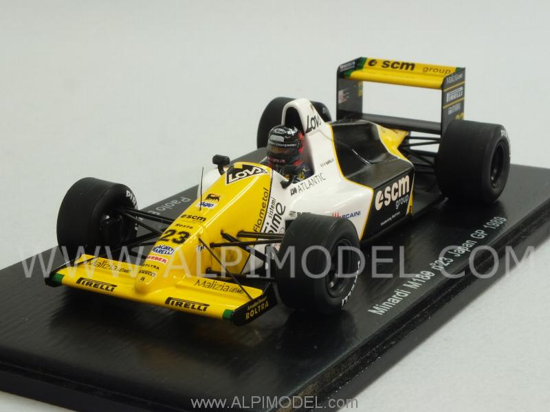 Minardi M189 #23 GP Japan 1989 Paolo Barilla by spark-model