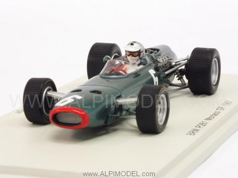 BRM P261 #6 GP Monaco 1967 Piers.Courage by spark-model