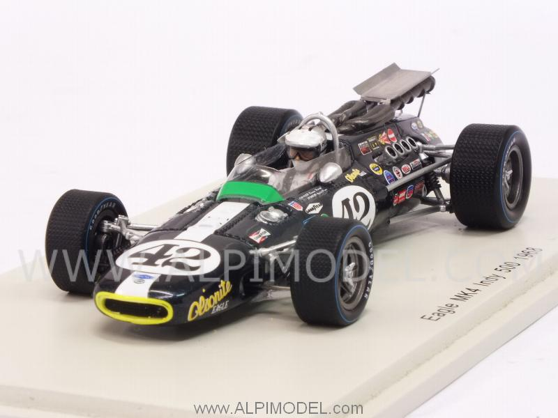 Eagle Mk4 #42 Indy 500 1968 Denny Hulme by spark-model