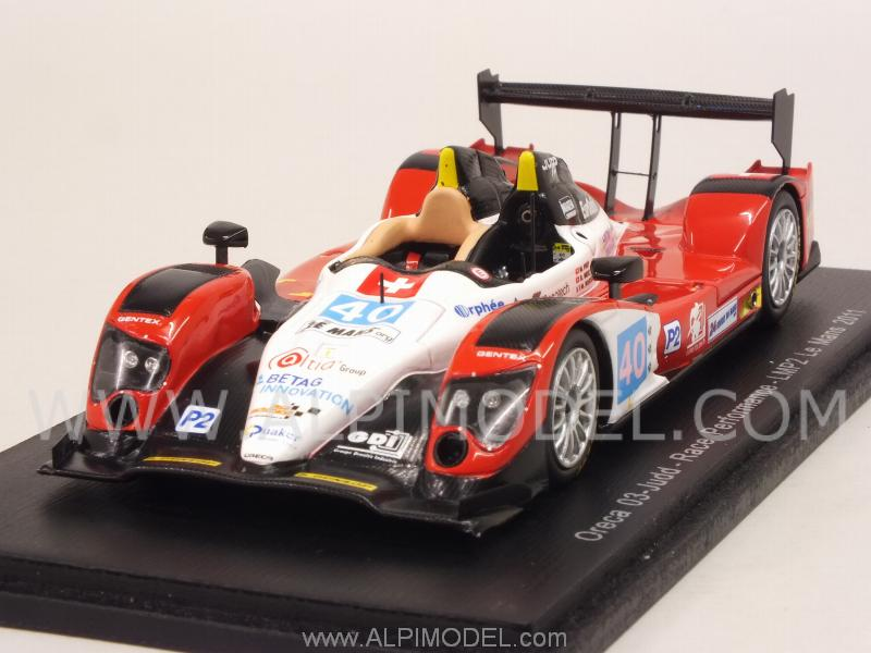 Oreca 03-Judd #40 Le Mans 2011 Frey - Meichtry - Rostan by spark-model