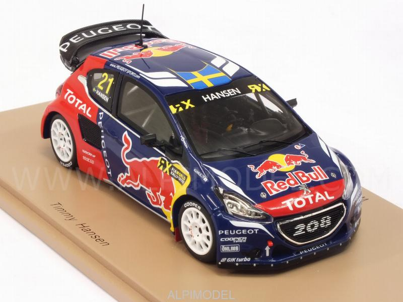 Peugeot 208 WRX #21 Winner World Rallycross of Canada 2016 Timmy Hansen - spark-model