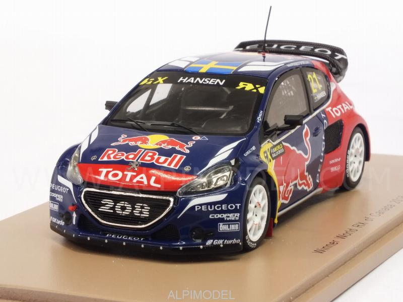 Peugeot 208 WRX #21 Winner World Rallycross of Canada 2016 Timmy Hansen by spark-model