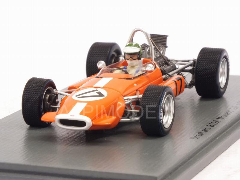 Brabham BT24 #17 GP Monaco 1969 Silvio Moser by spark-model
