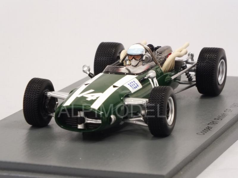 Cooper T81 #14 British GP 1967 Alan Rees by spark-model